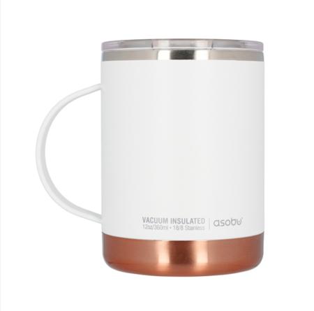 Asobu Ultimate Coffee Mug Biały 360ml - Kubek termiczny