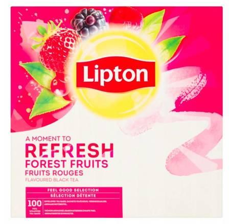 Czarna herbata Lipton Classic Forest Fruits 100x1,6g