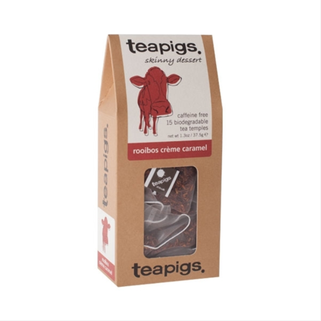 Herbata ziołowa Teapigs Rooibos Creme Caramel 15 piramidek