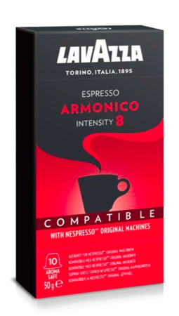 Kapsułki do Nespresso Lavazza Armonico - 10 sztuk