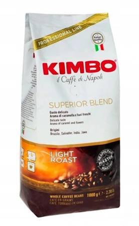 Kawa ziarnista Kimbo Superior Blend 1kg