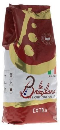 Kawa ziarnista La Brasiliana Rosso Extra 1kg
