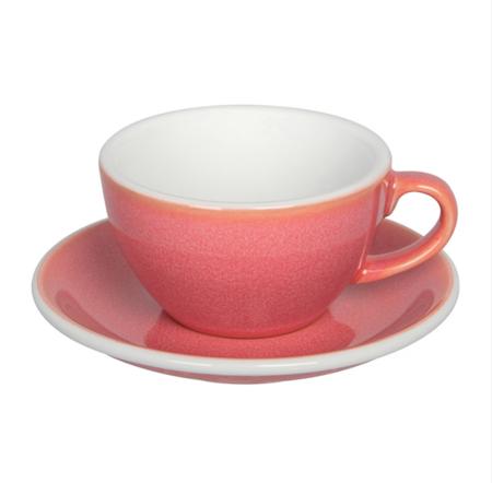 Loveramics Egg - Filiżanka i spodek Cappuccino 200 ml - Berry