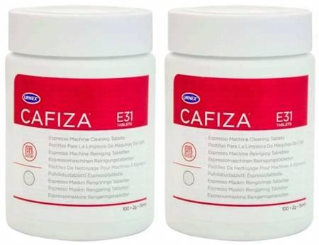 Urnex Cafiza 2x100szt - Tabletki czyszczące do ekspresu